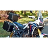 Conjunto Baú Lateral + Top Case + Suportes - HONDA CRF 1000L - ÁFRICA TWIN