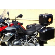 Conjunto Baú Lateral + Top Case + Suportes - BMW R1200GS (LC)/1250GS
