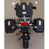 Conjunto Baú Lateral + Top Case + Suportes - BMW R1200GS