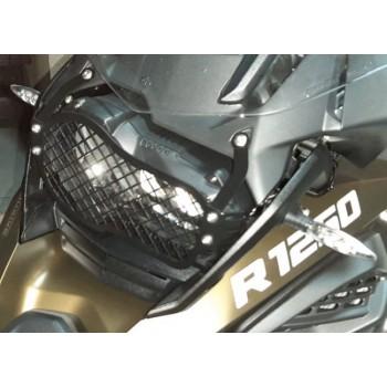 Protetor do Farol - BMW R1200GS LC/1250GS -PREMIUM/ADVENTURE  (2013 +)  (Metálico)