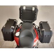 Conjunto Baú Lateral + Top Case + Suportes - BMW F700GS