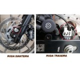 Kit de Proteção dos Sensores ABSs Traseiro e Dianteiro - BMW G650GS