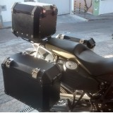 Conjunto Baú Lateral + Top Case + Suportes - BMW F800GS Adventure
