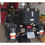 Conjunto Baú Lateral + Top Case + Suportes - KTM 990