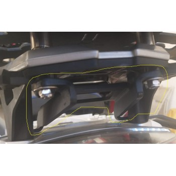 Suporte Top Case *TRAILMOTOPARTS* (com reforço) - BMW F850GS