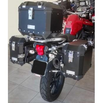 Conjunto Baú Lateral + Top Case + Suportes - TRIUMPH Tiger 1200 EX/XC
