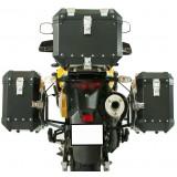 Conjunto Baú Lateral + Top Case + Suportes - Vstrom DL650 (até 2012)